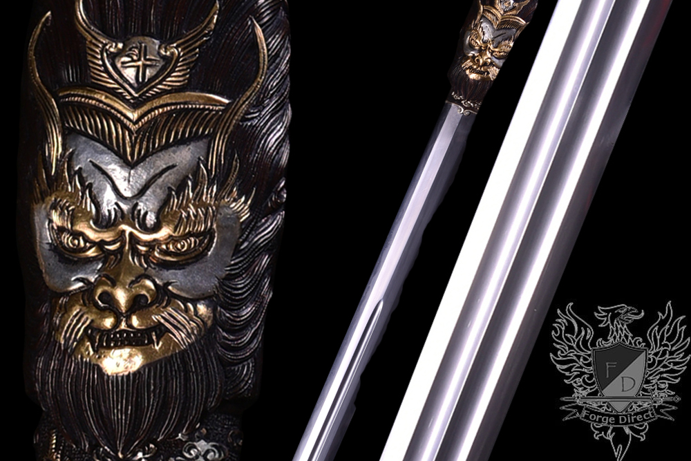 Forge Direct Damascus Windsteel Sword of the Monkey King