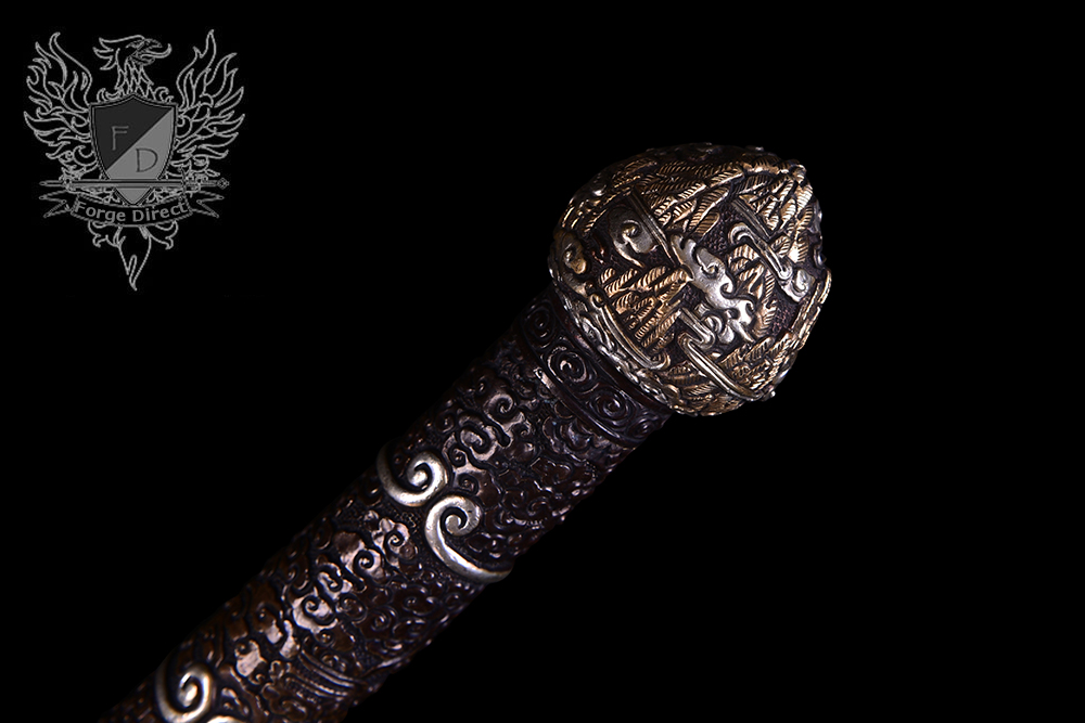 Forge Direct Damascus Windsteel Sword of the Monkey King 3