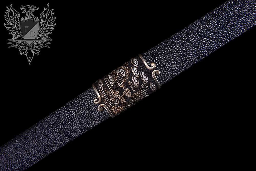 Forge Direct Damascus Windsteel Sword of the Monkey King 5