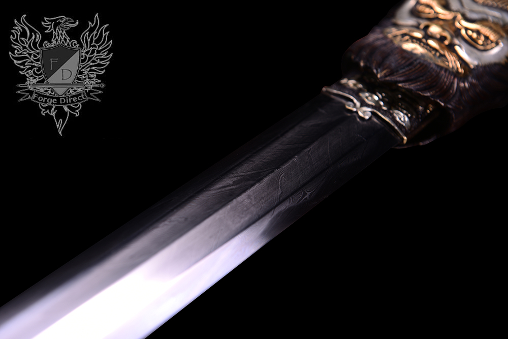 Forge Direct Damascus Windsteel Sword of the Monkey King 7