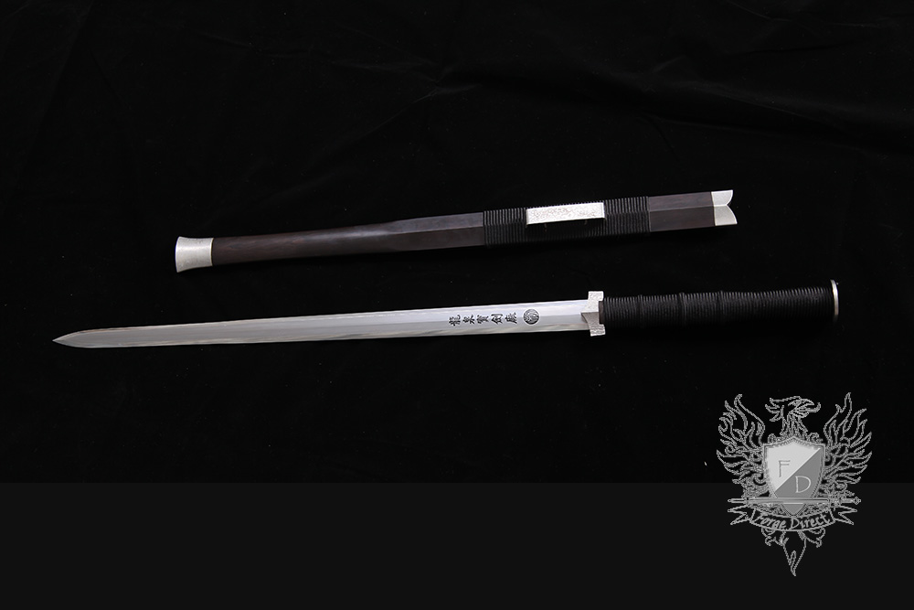 Forge Direct Silver Damascus Windsteel Sword 1
