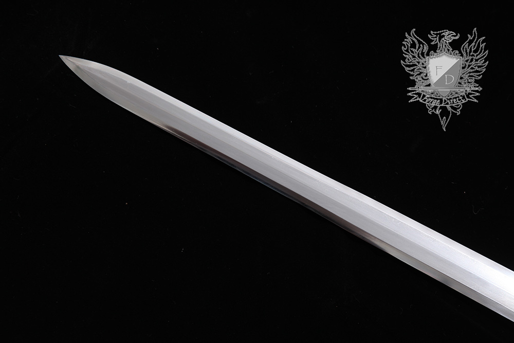 Forge Direct Silver Damascus Windsteel Sword 5