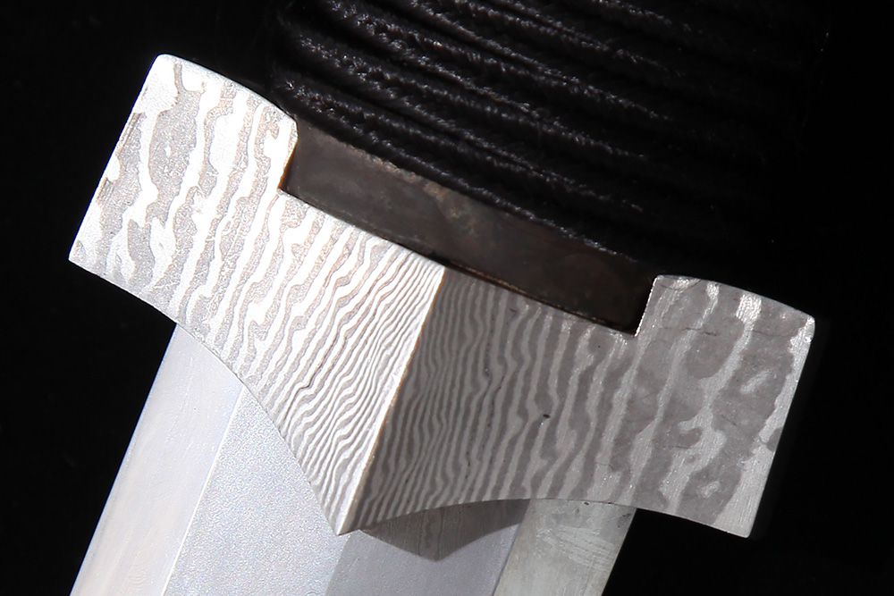 Forge Direct Silver Damascus Windsteel Sword 8