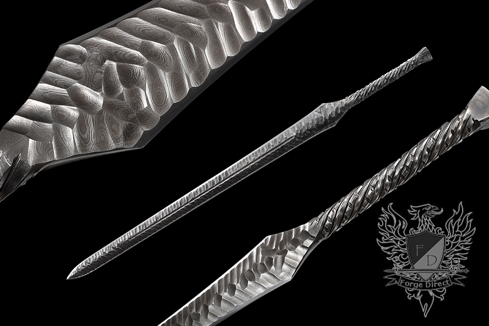 Forge Direct Damascus Fantasy Warsword - Sword of the Ancients