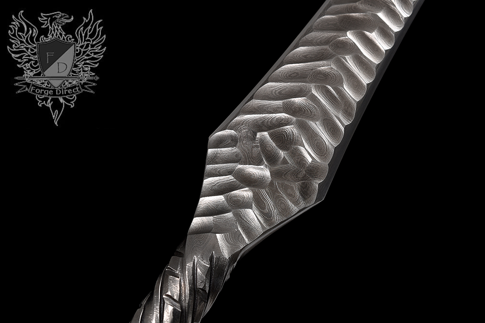 Forge Direct Damascus Fantasy Warsword - Sword of the Ancients 10