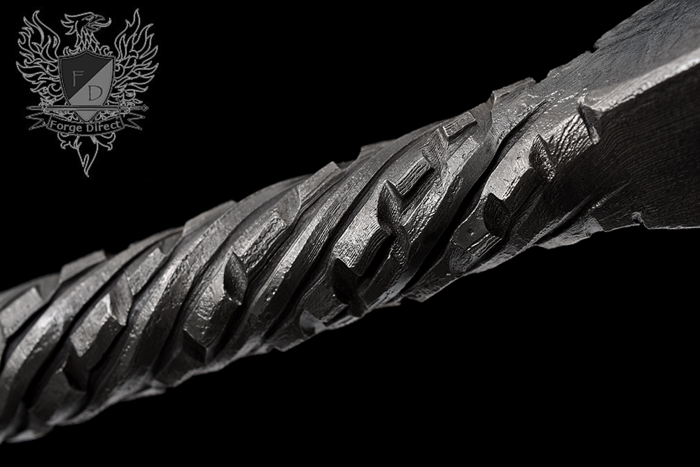 Forge Direct Damascus Fantasy Warsword - Sword of the Ancients 5
