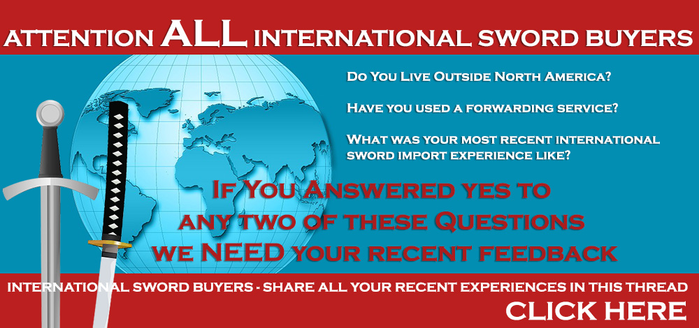 International Sword Buyers Let Us Help YOU