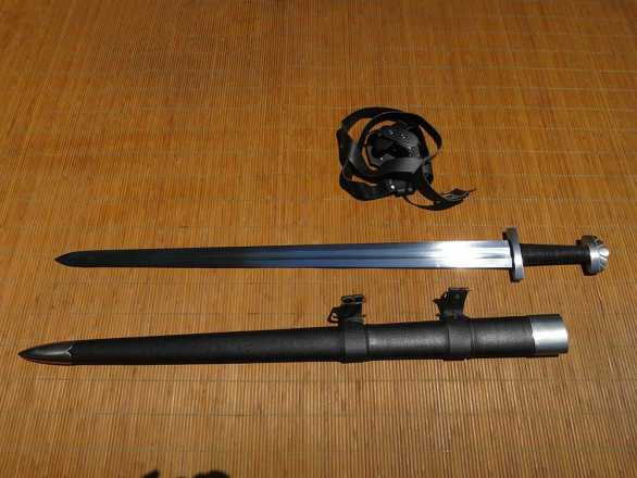 RK Euro Model 8 - Viking Sword PEENED
