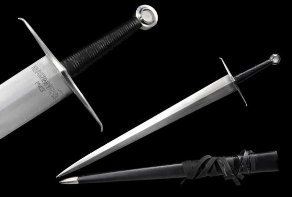 RK Euro Model 3 - Limited Edition Harriet Dean Historical Two Handed PEENED Sword (Deluxe Scabbard)