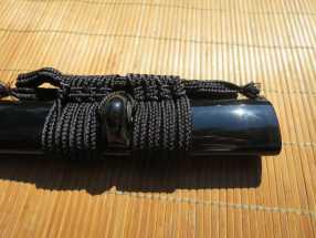 Dojo Pro Replacement Saya - Black Buffalo Horn 1
