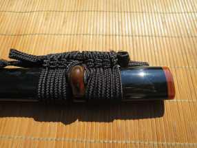 Dojo Pro Replacement Saya - Brown Buffalo Horn 1