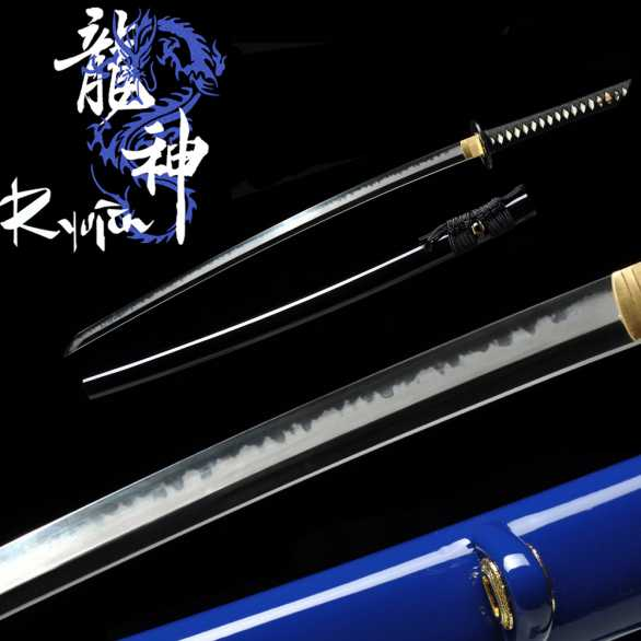 Ryujin T10 Custom Shinogi Zukuri Katana Elite Polish