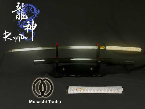 Ryujin DH T10 Tool Steel Katana -
