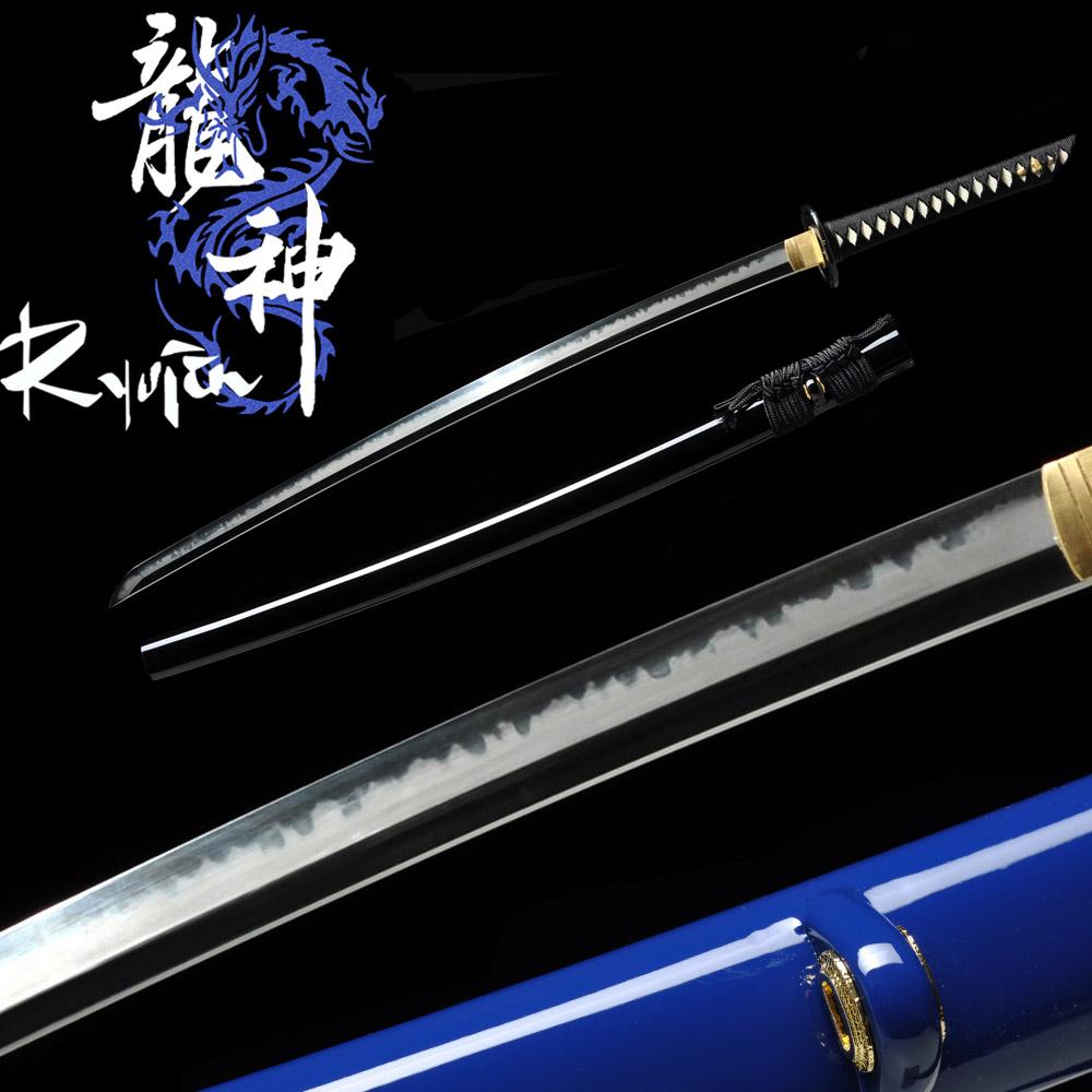 Ryujin T10 Custom Katana ELITE - Choji Midare Hamon