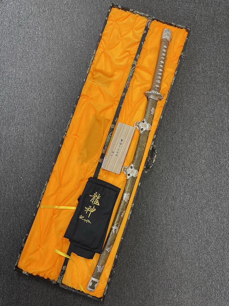Ryujin 1060 Carbon Steel Daimyo's Tachi Sword 5