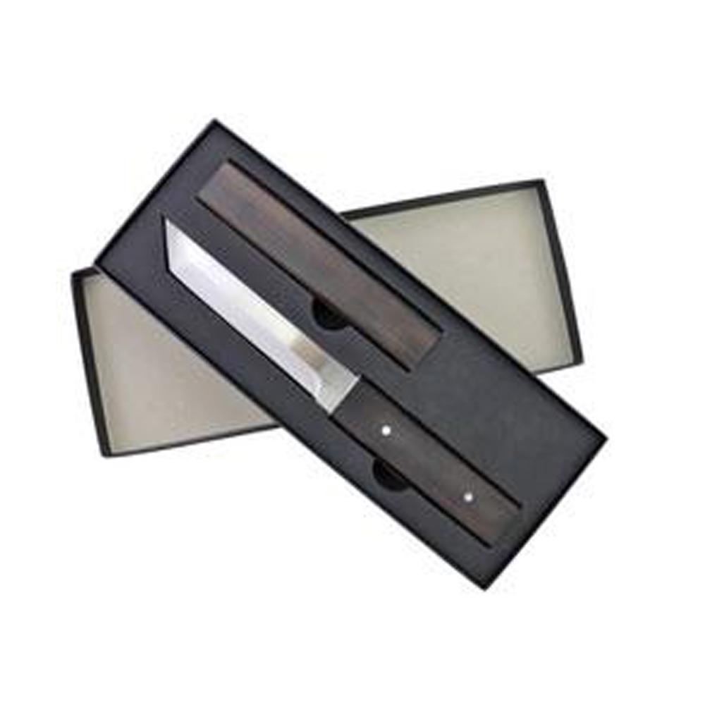 Ryujin 4CR14 Steel Tactical Tanto Black Shirasaya 3